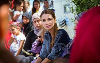 Foto Ratu Rania dari Yordania