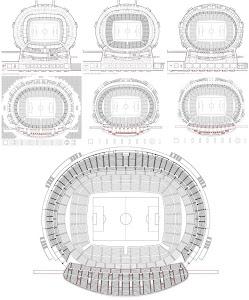 club atlético de madrid cancha/estadio