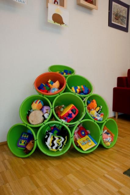 أفكار لترتيب ألعاب الأطفال