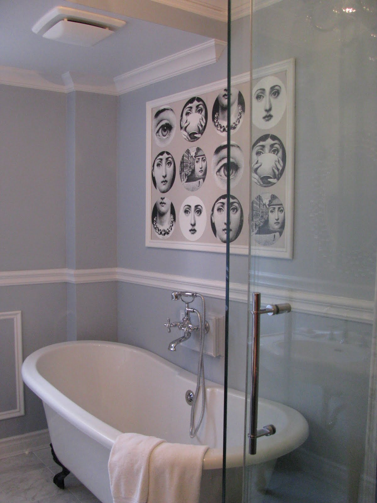 Remodelaholic Gorgeous Complete Bathroom Transformation