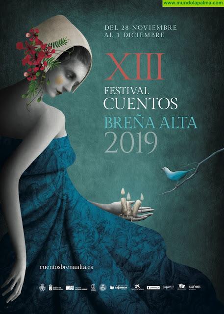 Comienza el XIII Festival de Cuentos de Breña Alta con el fuego como elemento literario