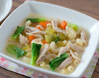 Resep Cara Memasak Sayur Sup Makaroni Ayam