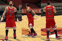 NBA 2K13 Chicago Bulls Jersey Patch