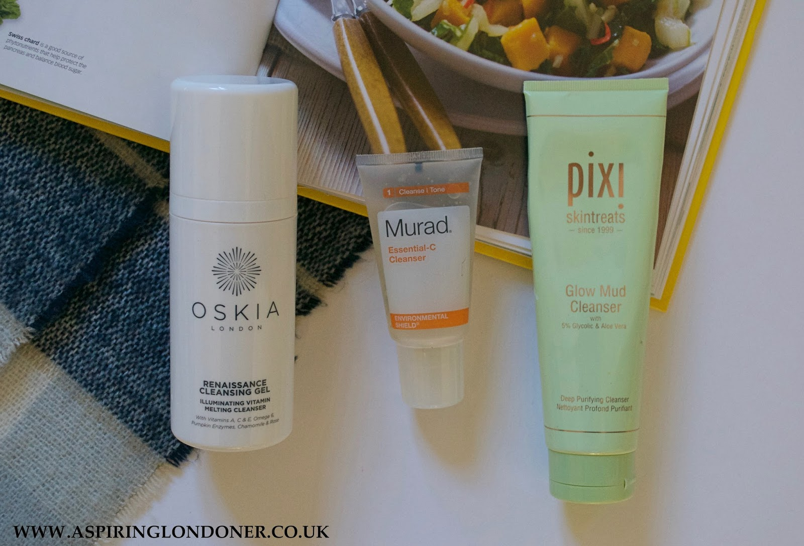 Skincare Routine Cleansers - Aspiring Londoner