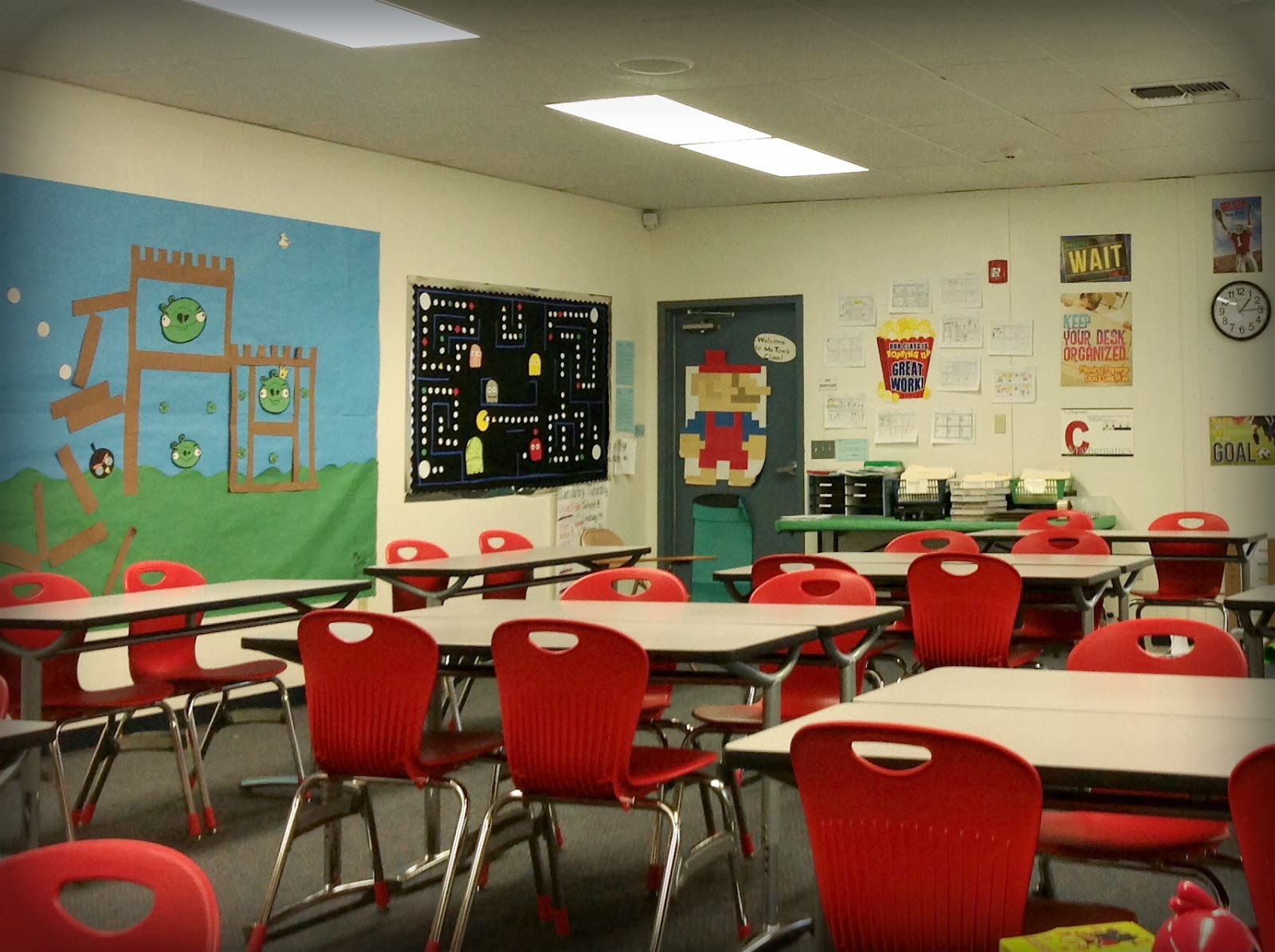 My Teaching Blog   Video Game Themed Classroom Video Game Themed Classroom