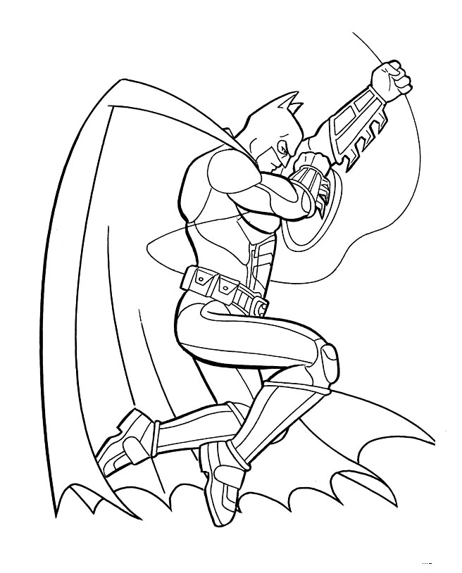 baby batman coloring pages - photo #16
