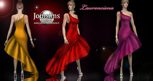 laurenciena evening dress click image to download women's clothing zone On. http://www.jomsimscreations.fr WEBSITE