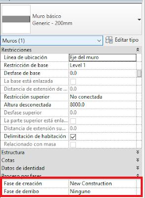 captura de pantalla de Revit