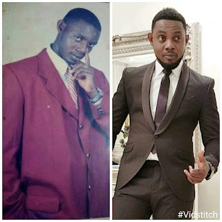 """Do you know the difference between """"coat"""" and """"Suit""""? Check Comedian AY's throwback pic."""