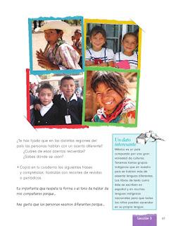 Apoyo Primaria Formación Cívica y Ética 1er grado Bloque 3 Lección 3 Conocer a diversas personas y convivir con ellas