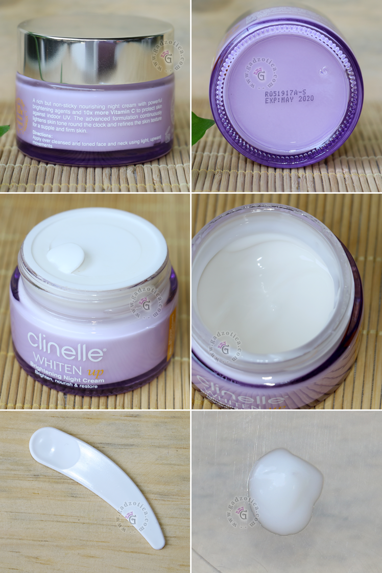 Review Clinelle Whiten Up Night Cream