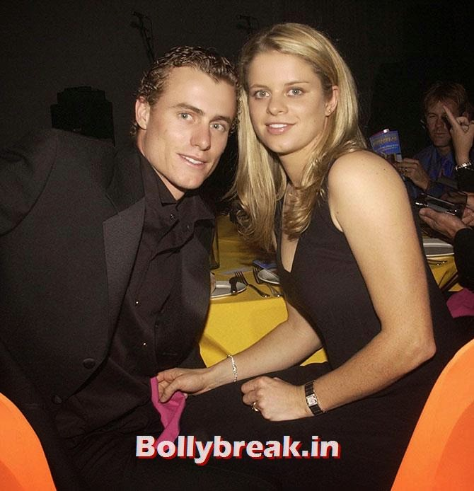 Lleyton Hewitt with Kim Clijsters, List of Sports star break-ups Pictures - Cricket, Tennis, Golf, Basketball