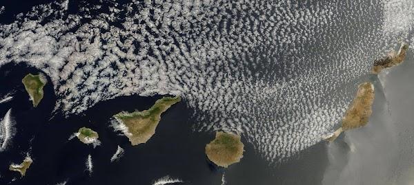 Espectacular foto de Canarias desde satélite, 2 junio