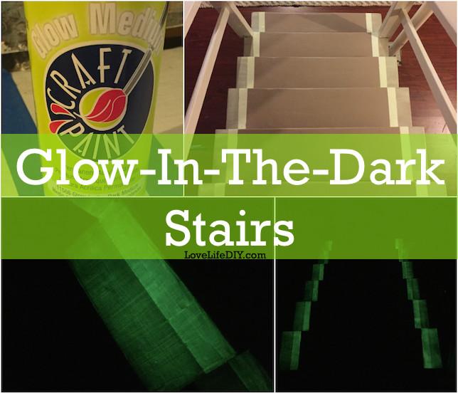 dark basement stairs.  Basement This GlowInTheDark Stairway Hack Might Save Your Life LifeHack For Dark Basement Stairs