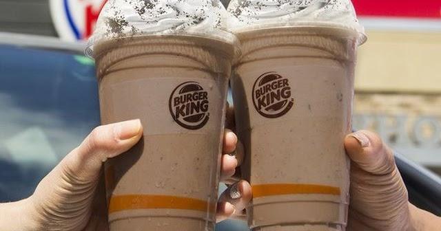 New Oreo Chocolate Shake Arrives At Burger King Brand Eating