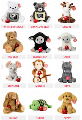 My Baby's Heartbeat Bear choices 1