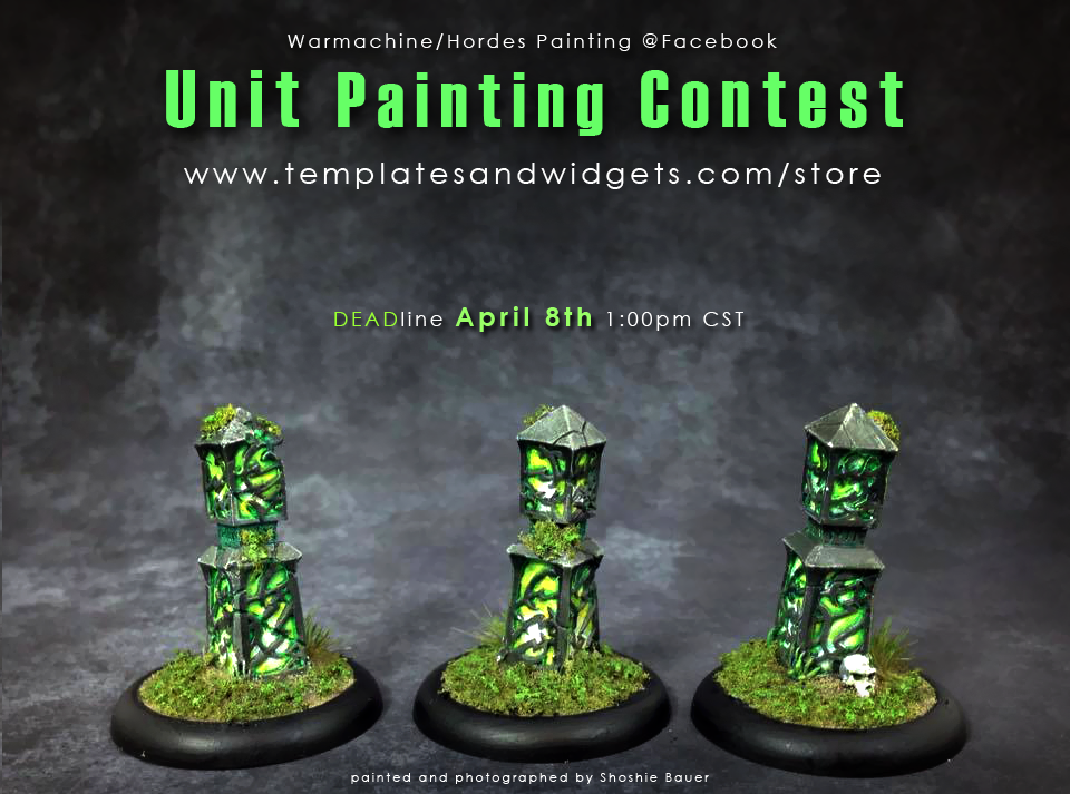 Warmachine Hordes Unit Painting Contest @Facebookphoto