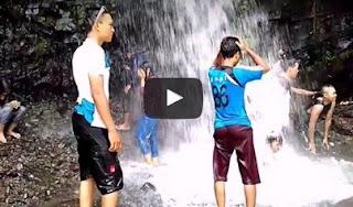 Objek Tempat Wisata Air Terjun Grenjengan Desa Jrahi