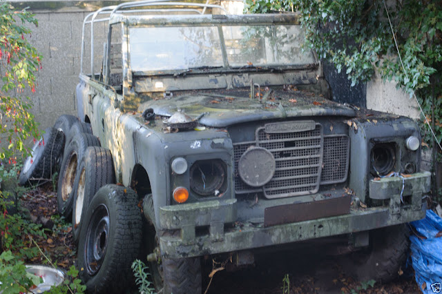 landrover defender land rover series iii 3 109 restoration project 24v ex military. Black Bedroom Furniture Sets. Home Design Ideas