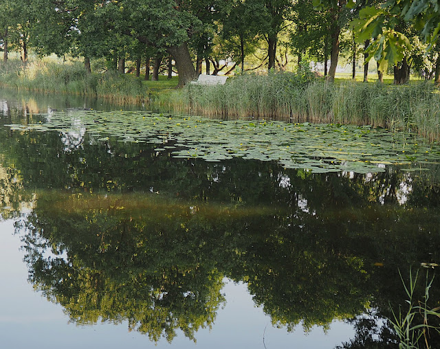 Пруд в Петергофе (Pond at Peterhof)