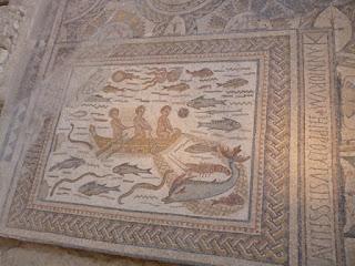 Mosaicos. Frigidarium
