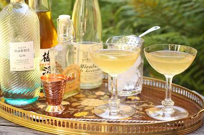 cocktail martini mirabelle de lorraine