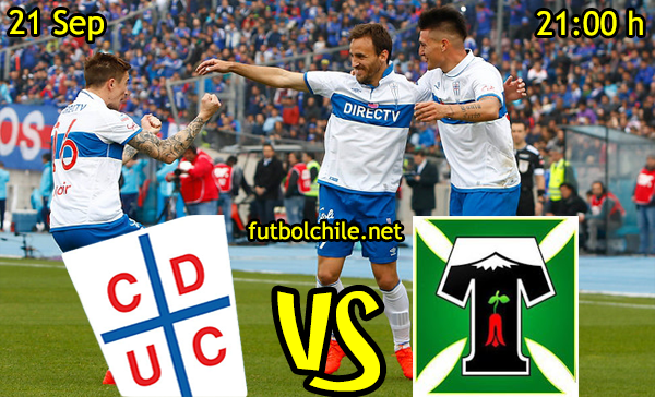 Ver stream hd youtube facebook movil android ios iphone table ipad windows mac linux resultado en vivo, online: Universidad Católica vs Deportes Temuco