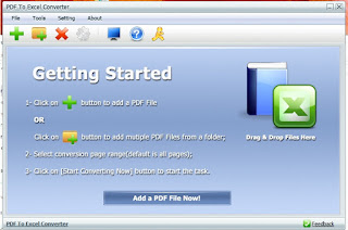 PDFZilla PDF To Excel Converter v4.6 Portable