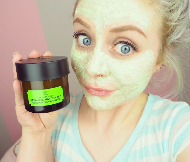 the body shop face mask