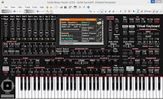 Download Virtual Keyboard Korg Pa4x