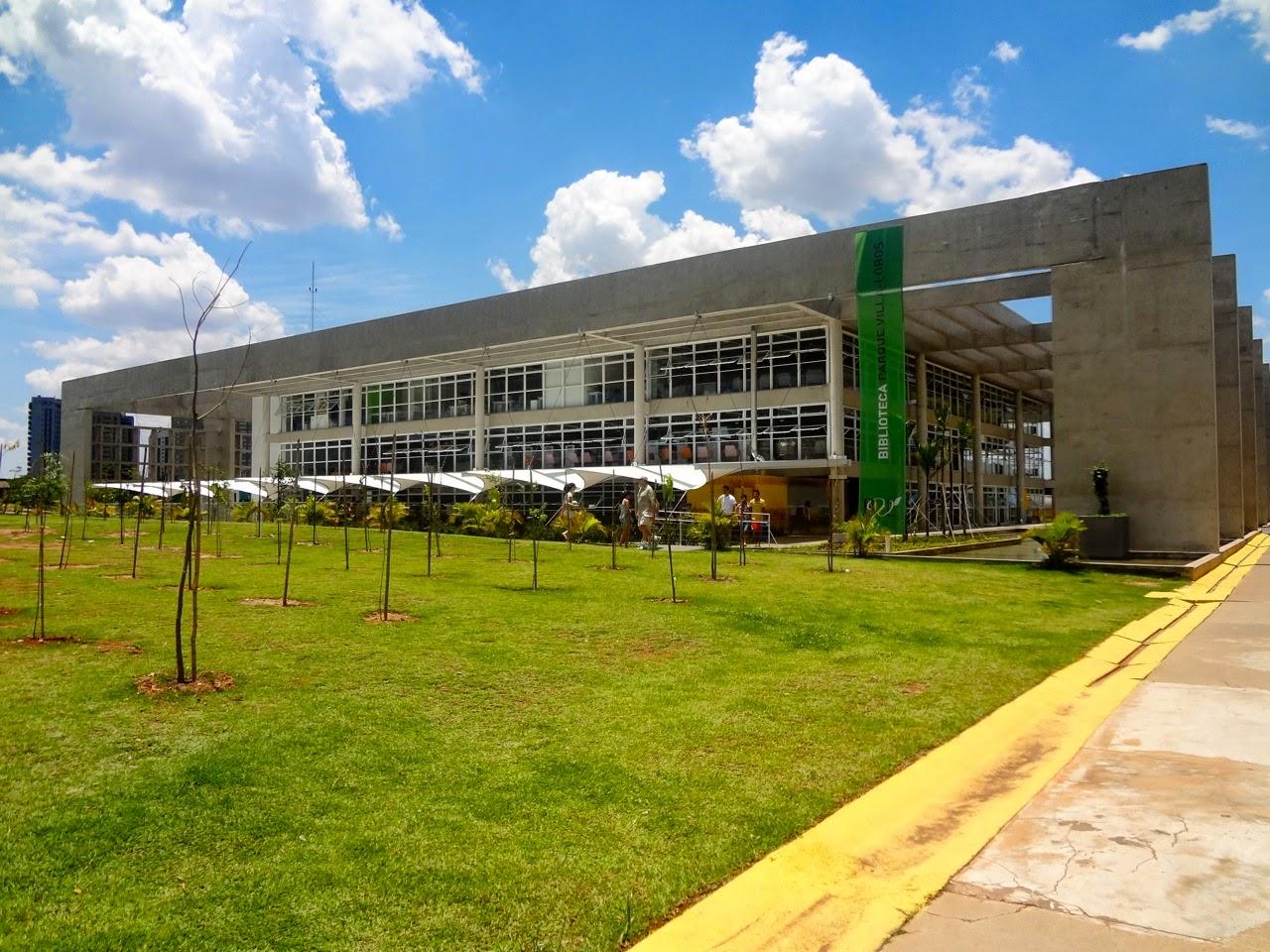 Parque Villa-Lobos - Biblioteca