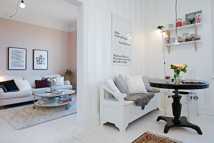 Detalle del office casa estilo nórdico