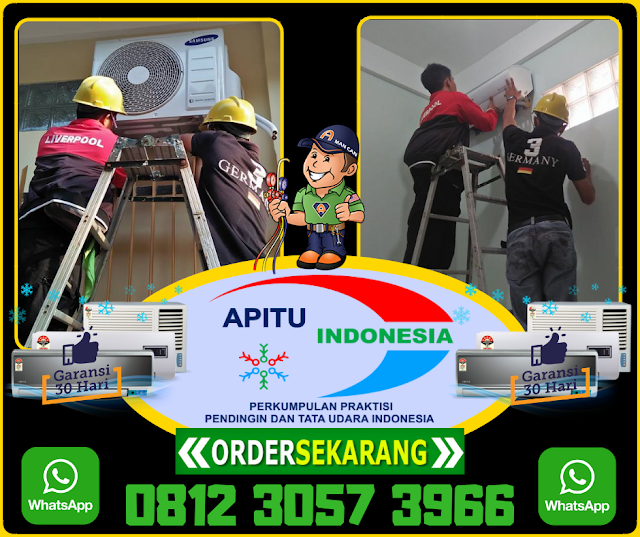 0812 3057 3966 (Whatshap) Jasa Pasang AC Surabaya Pusat Murah Berpengalaman.