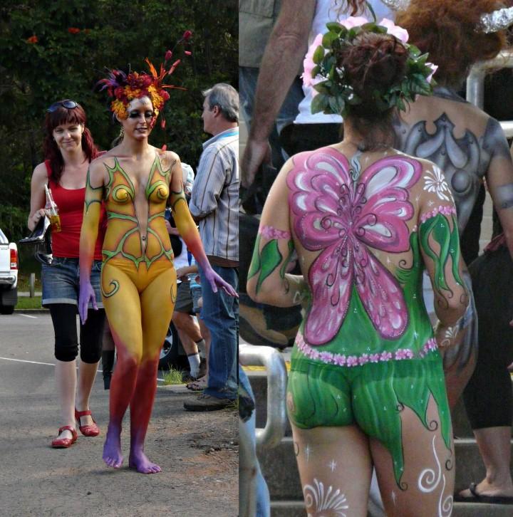Австралийский бодиарт карнавал 2