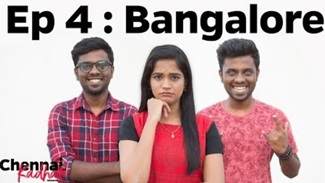 Chennai Girl Loves Bangalore Guys   Chennaiin Kadhal   EP 4   1 Kg Biriyani