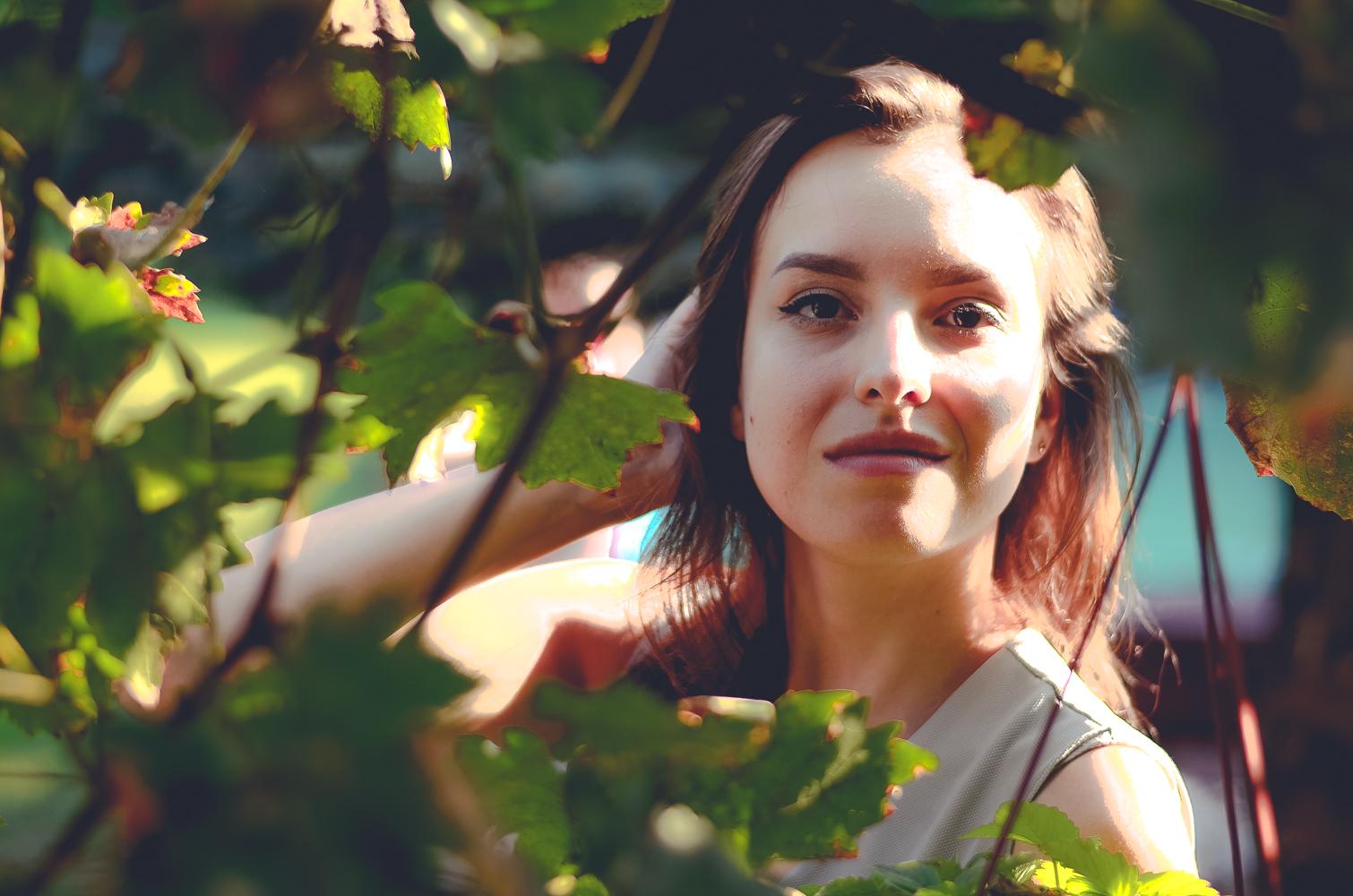 makijaż naturalny kobieta brunetka blog