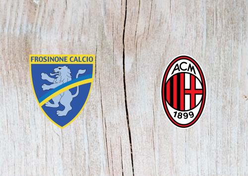Frosinone vs AC Milan Full Match & Highlights 26 December 2018