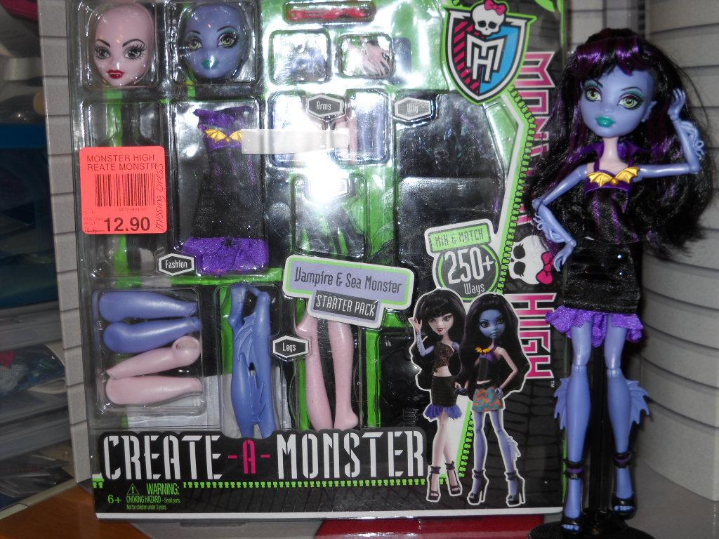 squarepeg's misc musings: Monster High Create Your Own Monster
