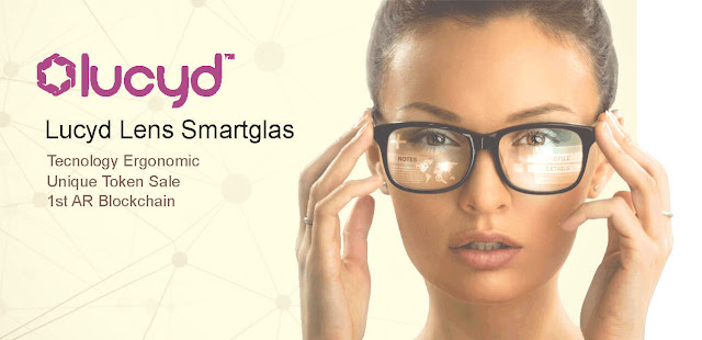 Lucyd Lens will be the first easy-to-use ergonomic Smartglas
