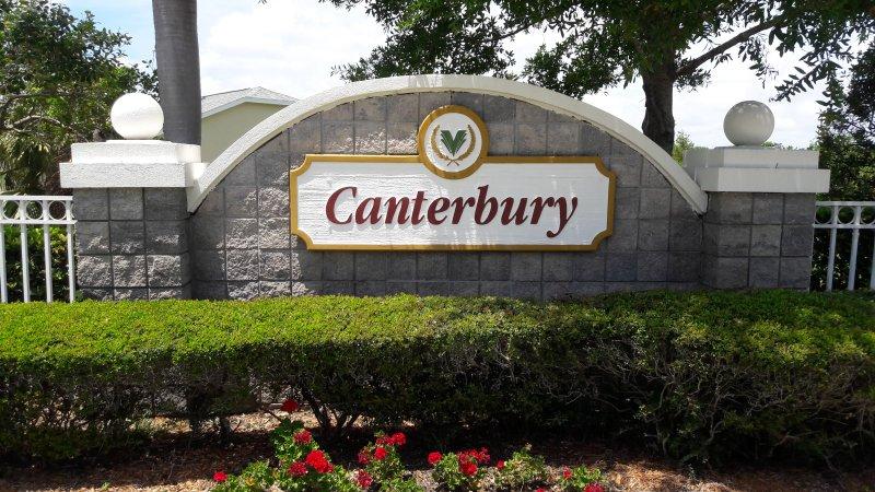 Canterbury Neighborhood, Viera, FL