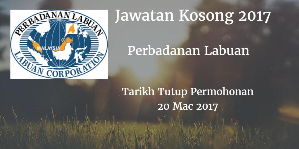 Jawatan Kosong Perbadanan Labuan 20 Mac 2017