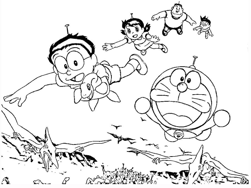 Doraemon Coloring Pages Realistic