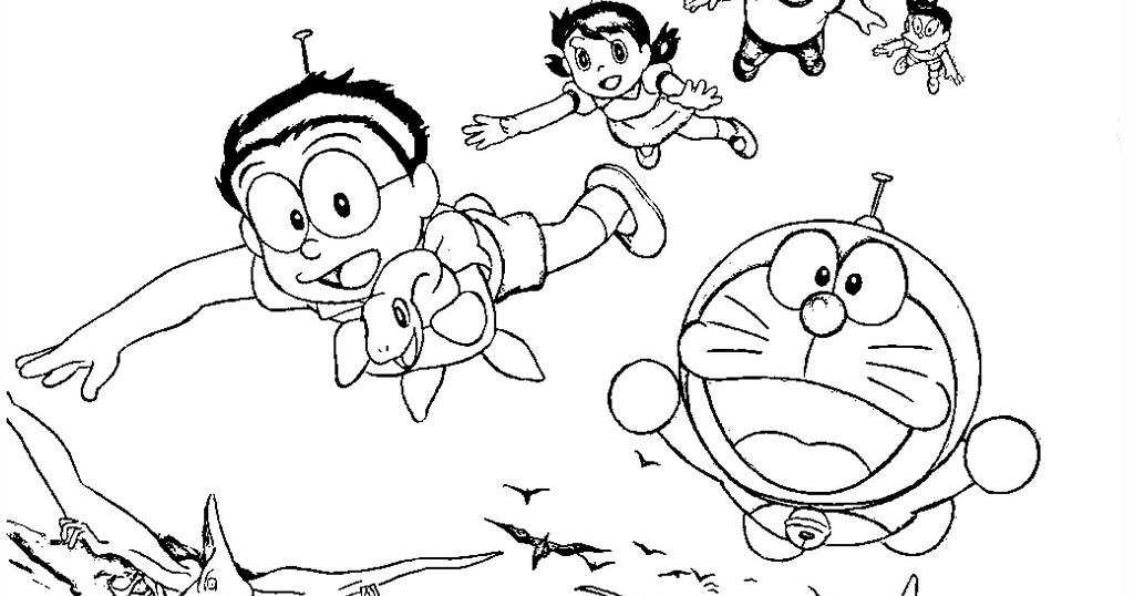 Doraemon Coloring Pages | Realistic Coloring Pages