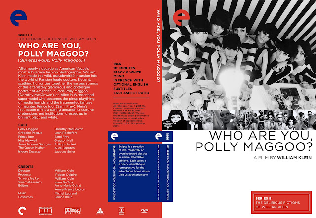 Who Are You Polly Maggoo? DVD Cover