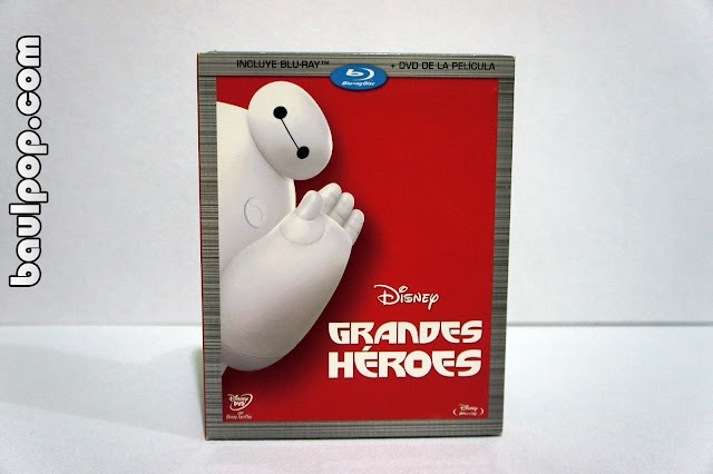 Grandes Héroes  combo blu-ray + dvd con slipcover