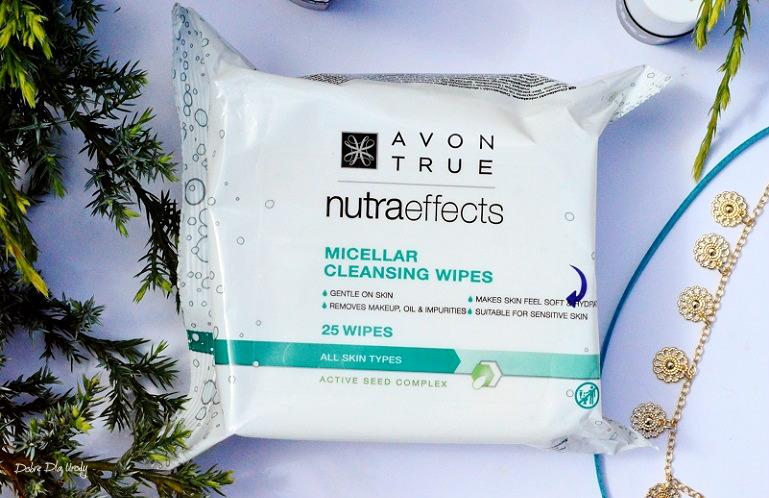 Chusteczki micelarne Avon True Nutra Effects