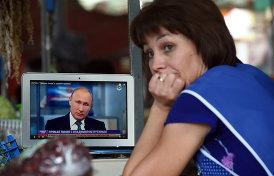 как Путин провел две «Прямые линии» за неделю