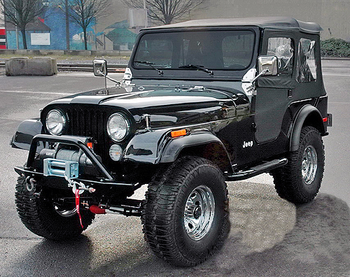 Jeep CJ Models 1978 Complete Electrical Wiring Diagram