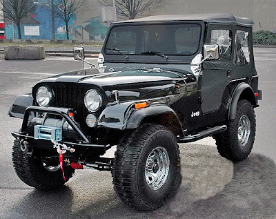 Jeep CJ Models 1978 Complete Electrical Wiring Diagram ...