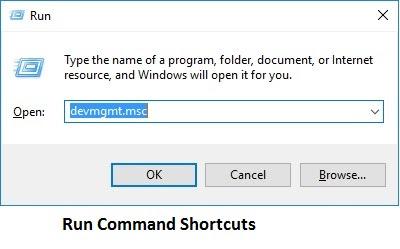 Run Command Shortcuts